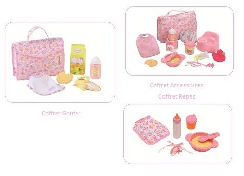 bebe corolle w0102 accessoire poupon mon premier la nursery coffret accessoires. Black Bedroom Furniture Sets. Home Design Ideas