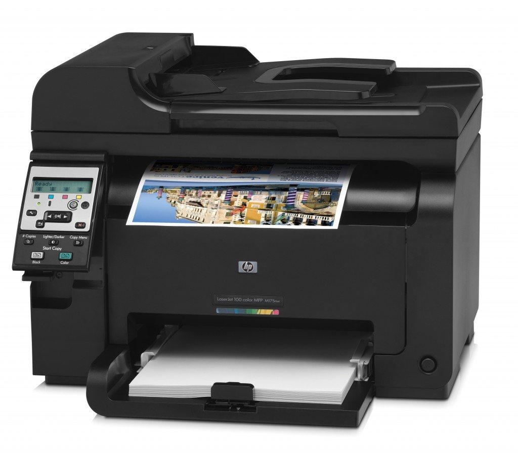 Hp Laserjet Pro Color 100 Mfp M175nw Impresora