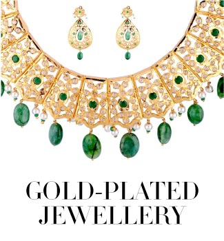 gold plated jewellery