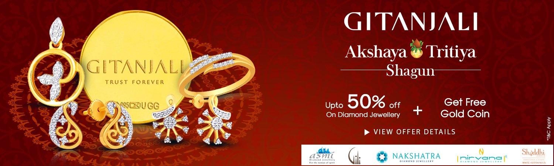 Gitanjali: Akshay Tritiya : upto 50% off