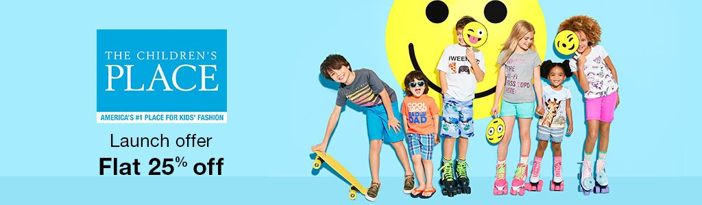 fdca3d645 The Children's Place Clothing – Flat 25% Off @ Amazon – Fashion & Apparels