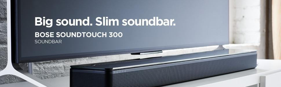 Bose Soundtouch 300 Sound Bar Speakers Black Price Buy