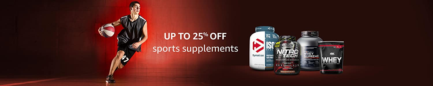 Up to 25% Off On Sports Supplements
