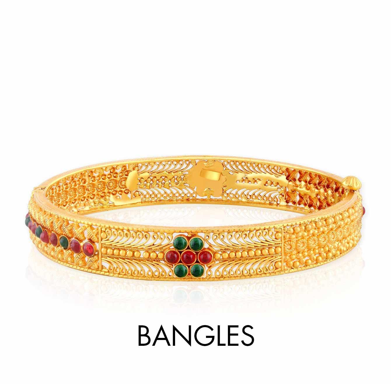Bangles With Price: Amazon.in: Malabar Gold & Diamonds Store: Jewellery