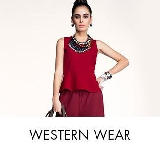 Online shopping western clothes