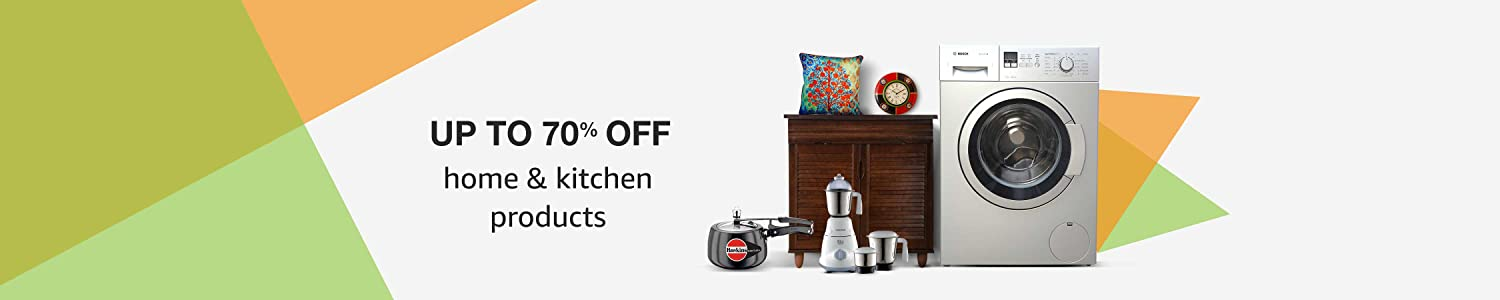 Up to 70% off Home & Kitchen products