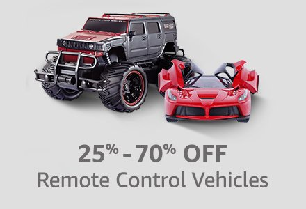 20% to 60% OFF on Toys