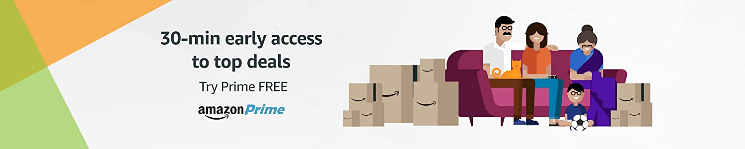 Amazon Prime: 30-min early access to top deals