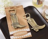 "Kate Aspen ""Just Hitched"" Cowboy Boot Bottle Opener"