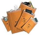 Jiffy - Sobres acolchados (para papel A4+ y libros, 100 unidades, tamaño 5, 245 x 381 mm), color marrón