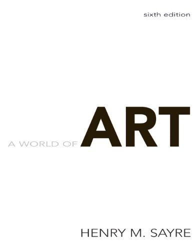 World of Art, A (6th Edition)