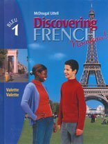 Discovering French Nouveau Bleu 1 (English and French Edition)