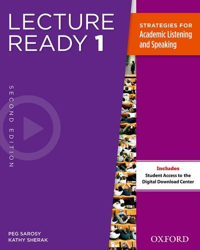 Lecture Ready Student Book 1, Second Edition