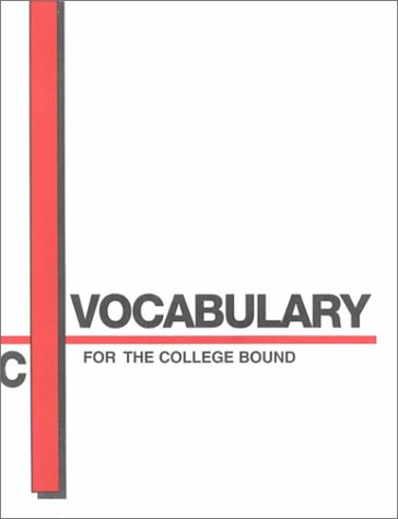 Vocabulary For The College Bound Book C Author James