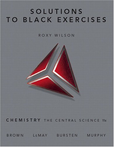 Solutions to Black Exercises for Chemistry: The Central Science