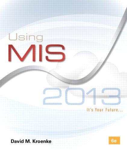 Using MIS (6th Edition)