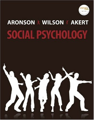 Social Psychology (6th Edition)