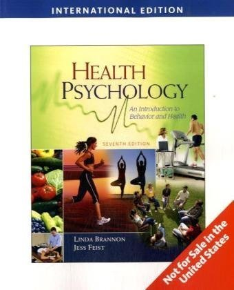 Health Psychology: An Introduction to Behavior and Health [IMPORT]