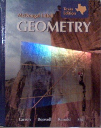 McDougall Littell Geometry Texas Edition (Hardcover)