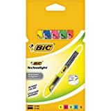 BiC Technolight Highlighter Pens - Assorted (Pack of 5)