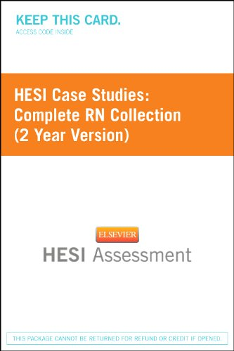 hesi case studies rn medical-surgical collection 2011 Hesi case study on parkinson's disease  get homework help and answers to your toughest questions in biology, chemistry, physics, math, calculus, study force - problem solved is the leading provider of online homework help for college and high school students.