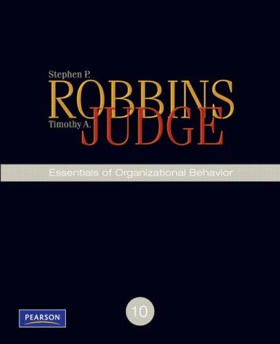 Organizational Behaviour Robbins Ebook