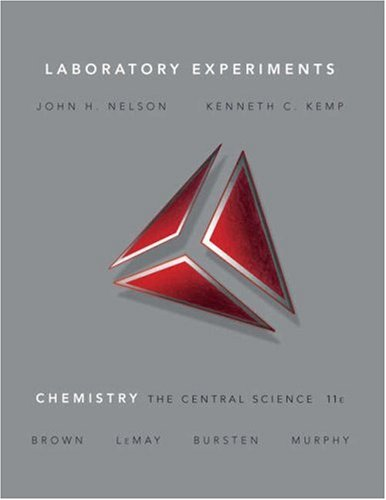 Laboratory Experiments for Chemistry: The Central Science (11th Edition)