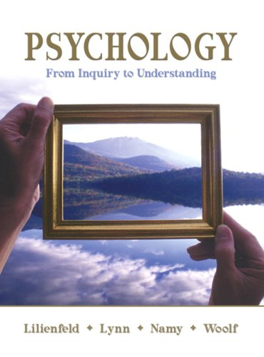 Psychology: From Inquiry to Understanding Value Package (includes MyPsychLab with E-Book Student Access )