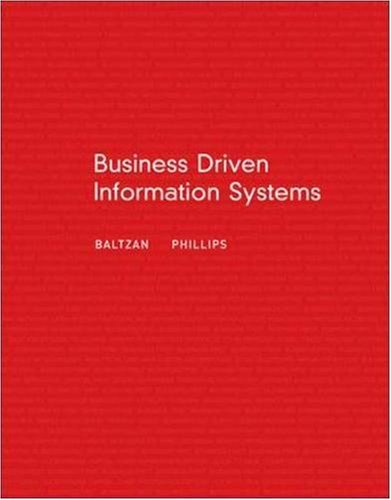 Business Driven Information Systems with MISource 2007 and Student CD