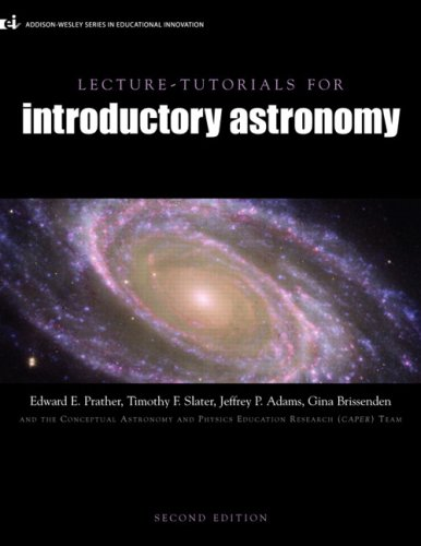 Lecture Tutorials for Introductory Astronomy (2nd Edition)
