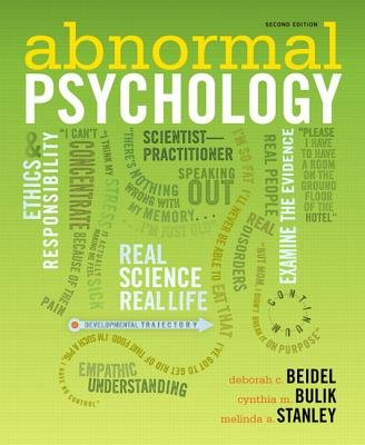 Abnormal Psychology, Books a la Carte Edition (2nd Edition)