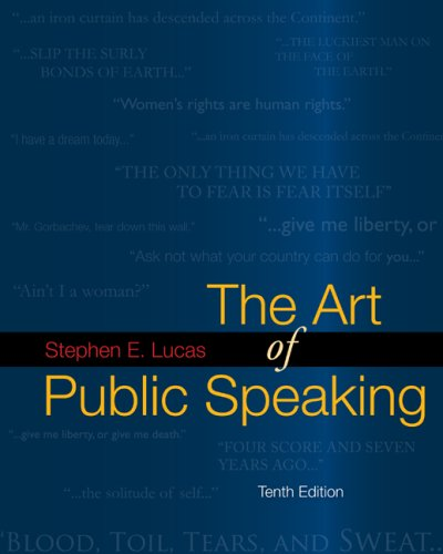 The Art of Public Speaking with Connect Lucas, Author