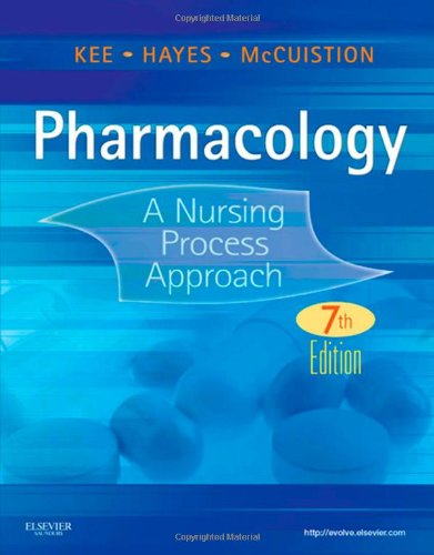 Pharmacology: A Nursing Process Approach (Kee, Pharmacology)