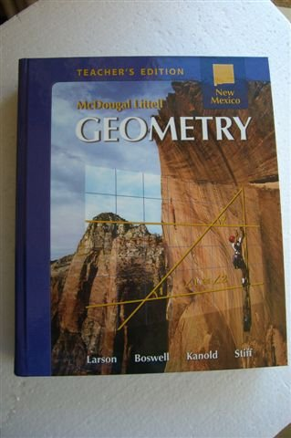 Geometry Teacher's Edition New Mexico