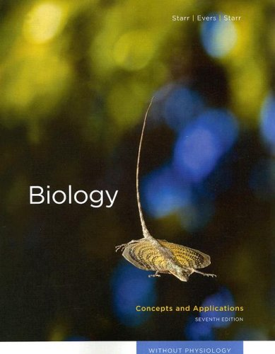 Biology: Concepts and Applications without Physiology (Thomson Advantage Books)