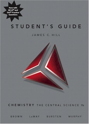 Student's Guide for Chemistry: The Central Science