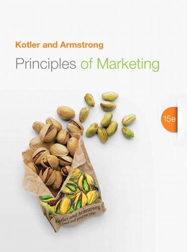 Principles Of Marketing 15th Edition Author Philip Kotler Gary