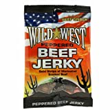 Wild West Beef Jerky peppered 25 g