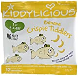 Kiddylicious Banana Crispie Tiddlers 12 g (Pack of 18)