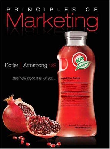 Principles Of Marketing 16th Edition Pdf