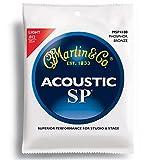 Martin SP 92/8 Acoustic Guitar Strings - Phosphor Bronze Wound (Light, .012 - .054)