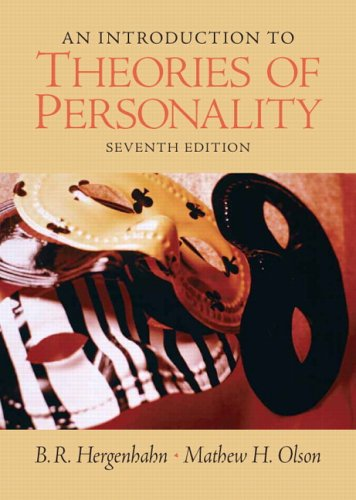 An Introduction to Theories of Personality (7th Edition)