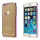 ECENCE Apple iPhone SE / 5 5S hard shell custodia protettiva rigido case cover fata rosa 41010506