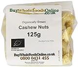 Organic Cashew Nuts 125 g