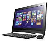 Lenovo 57329077 C260 Desktop Computer All-in-One, 19.5 Pollici HD + LED, Intel Pentium J2900 2.41 GHz, 4GB RAM, 500GB HDD, Nvidia GeForce 800A/1GB, Windows 8.1, colore: Nero [Germania]