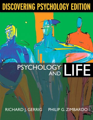 Psychology and Life, Discovering Psychology Edition (with MyPsychLab) (18th Edition)