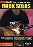 Lick Library: Learn To Play Your Own Rock Guitar Solos. Pour Guitare