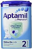 Aptamil Stage 2 Follow on Milk Powder 900 g (Pack of 6)