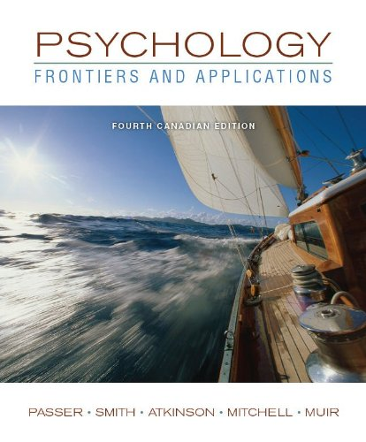 Psychology: Frontiers and Applications + Connect w/eText