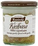 Spichlerz Rusiecki Sausage Gently Spiced with Garlic 300 g(Pack of4)
